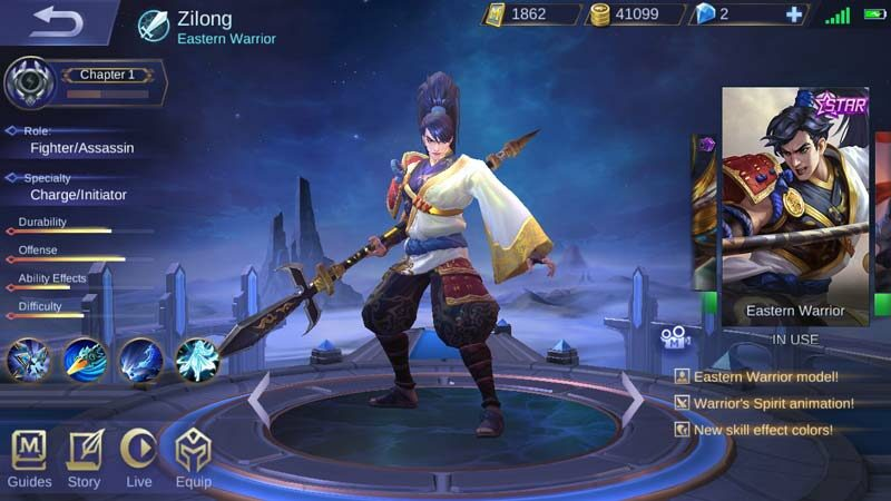 Item Build Zilong Revamp di Mobile Legends